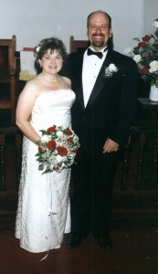 Wedding Pic - a little heavy for my liking, but ok.